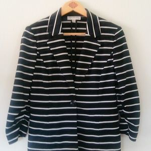 Evan picone womens Striped Jacket